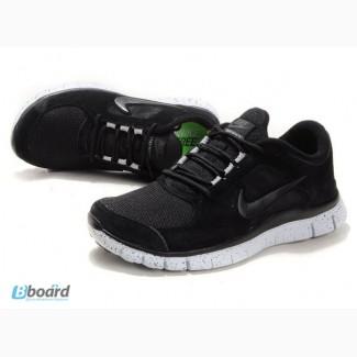 Кроссовки Nike Free Run Plus 3 - черные