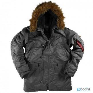 Классические мужские куртки Аляска Alpha Industries (США)