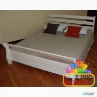 Двуспальная кровать. Деревянная