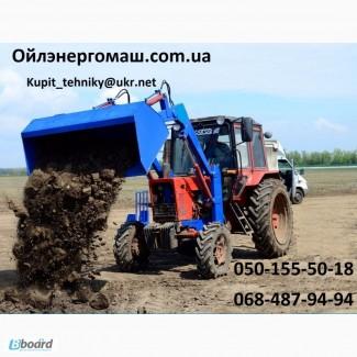 Погрузчик тракторный фронтальный-универсальный (КУН) на Юмз, Мтз, Т-40