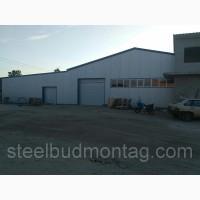 Производственное помещение 18*60*4. Монтаж металлоконструкций