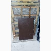 Фасадная плита 900*600*30, рваный камень, коричневый цвет, недорого, остатки, 150 кв. м