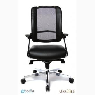 Компьютерные эргономичные кресла SITNESS 50 Германия спинка/сетка, сидение/кожа