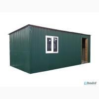 Бытовка, дачный домик 5, 0х3, 0х2, 2 зеленый