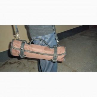 Чехлы и скрутки для ножей из кожи и ткани для ножей и инструментов различного назначения