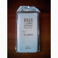Meizu M3 Max. Силиконовый чехол накладка (бампер)