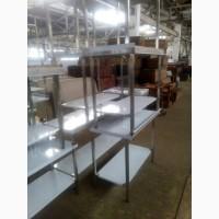 Стол из нержавейки стол производственный стол разделочный для кафе по цене б/у Стол борт