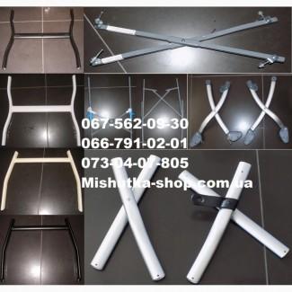 Металлические элементы рамы коляски