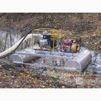Миниземснаряды водные для очистки, углубления, намыва и добычи сапропеля