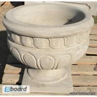 Римский - вазон/цветник из бетона, бетонная цветочница