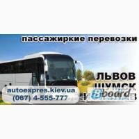 Регулярные пассажирские перевозки Киев-Львов, -Шумск, -Изяслав