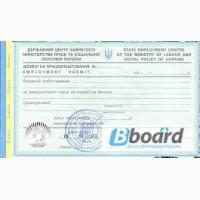 Разрешение на трудоустройство иностранцам