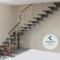 Лестница на 1 косоуре