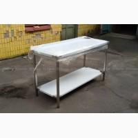 Продам столы из нержавейки для производства, столовой, кафе, ресторана