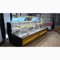 Кондитерская витрина холодильная 2, 8 м. б/у, витрина для кондитерских товаров