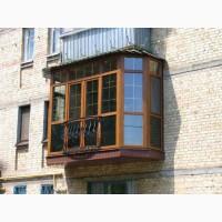 Металлопластиковые конструкции, французские балконы, окна