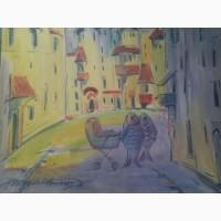 Продам коллекцию картин известного одесского художника Шкуропат. А.И