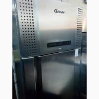 Продам бу шкаф морозильный Gram Plus F 600 RSG 4N