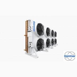Градирни конденсаторы, шокфростеры, воздухоохладители, GUNTNER