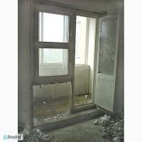 Демонтаж бетонного порога (балкон)