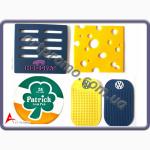 Лейблы, нашивки и шевроны из резины (PVC)