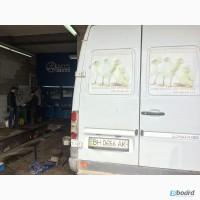 СТО, автосервис, ремонт микроавтобусов Мерседес Одесса