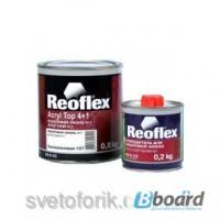 Акриловая эмаль 4+1 Reoflex вишня 127