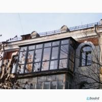 Пластиковые Балконы и лоджии Rehau под ключ от Дизайн Пласт