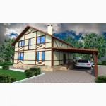 Канадский дом- каркасный дом из сип панелей от застройщика Харьков