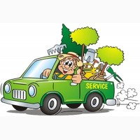 Уход за садом и газоном, услуги садовников