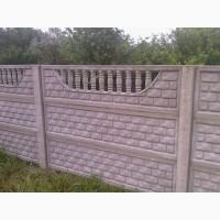 Паркан, огорожа, бетонный забор, еврозабор