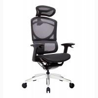 Кресло ERREVO UNO в черном цвете, спинка/сетка, сидение/сетка