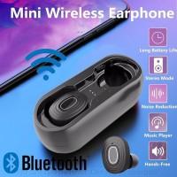 Мини-наушники V6 с Bluetooth 5, 0 3D Hi-Fii стерео, с зарядным чехлом, IPX5