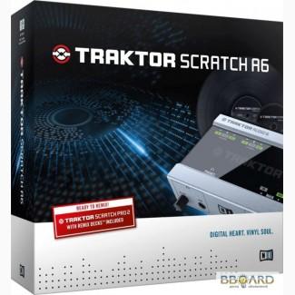 Звуковая карта Native Instruments TRAKTOR Scratch A6 продам