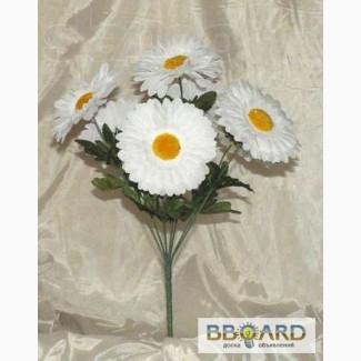 Искусственные цветы букет Ромашка. Крупный опт. ОПТ