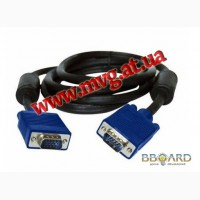 Продам кабель VGA 1.5м 1,8м 3м 5м 10м 15м 20м 30м