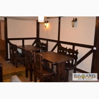Продам новую мебель из массива сосны под старину для баров, пабов, ресторанов, кафе
