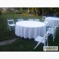 Аренда свадебных белых стульев