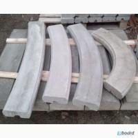 Перило радиусное, бетонные перила