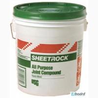 Шпаклевка готовая SHEETROCK, 25 кг