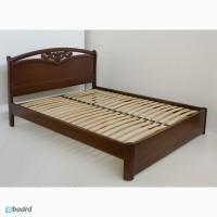 Кровать деревянная двуспальная от надёжного производителя