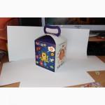 Бумажная упаковка картошка фри, футбокс, блины, кидс меню