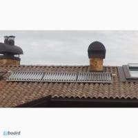 Монтаж солнечных коллекторов. Киев и область