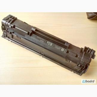 Картридж из Европы HP CE283A оригинальный