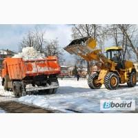 Уборка и очистка территории от снега