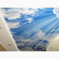 Натяжные потолки Небо ребенку.Запорожье