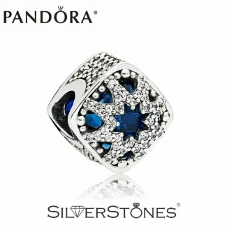 Скидки! Оригинал Pandora Пандора шарм бусина Ледяная красота 796360NSB