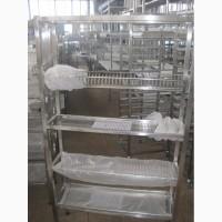 Продам стеллаж из нержавеющей стали для сушки посуды