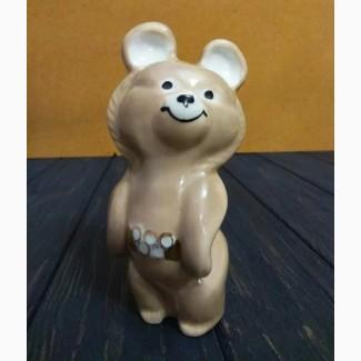 Мишка олимпийский СССР статуэтка 2