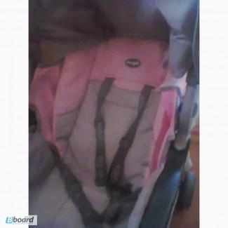Продам каляску эверфло, бу.цвет розовый.цена 300 гривен.кривой рог